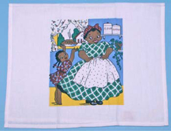 Black Americana -  Kitchen Towels and Tablecloths Copied