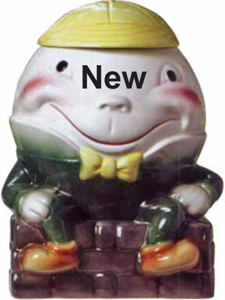 Humpty Dumpty Cookie Jar Copied