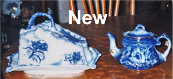 More Confusing Marks on New Flow Blue China