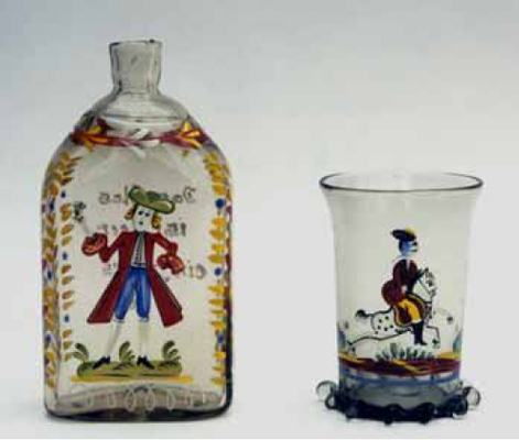 Bohemian Glass Reproductions Of Old Designs