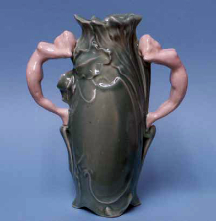 Weller Mark Faked on Art Nouveau Vase