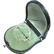 Antique Domed Jewelry Box for a Brooch