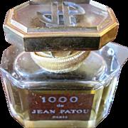 Jean Patou 1000 Factice French Perfume Bottle & Box