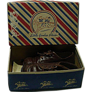 Vintage Little Yankee Children's Shoes In Original Box