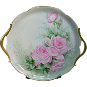 T & V Limoges France Serving Tray