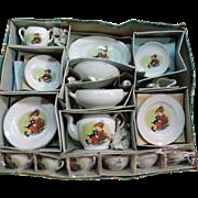 REDUCED Child's Vintage  Porcelain Tea Set