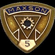 Mason Tie Tack or Lapel Pin 10k Gold