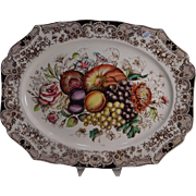 Vintage Johnson Brothers Harvest Large Turkey Platter