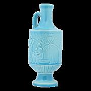 Rookwood 1946 Crystal Blue Handled Bottle Vase #6791