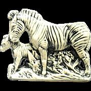 McCoy Pottery 1956 - 57 Zebra Planter