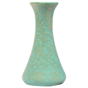 Brush McCoy Green Art Vellum Vase #064