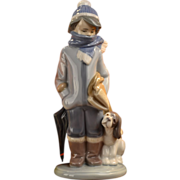 Lladro Winter Figurine #01005220