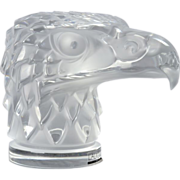 "Lalique Crystal Eagle ""Tete d'Aigle"""