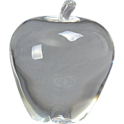 Steuben Crystal Apple