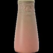 Rookwood Pottery Vase Mat Pink (Shape 2111), 1924