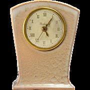 Rookwood Pottery Clock in Beige (Shape #7048), 1950