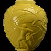 Stangl Pottery Archers Yellow Lamp Base