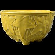 McCoy Pottery Planter, 1950's Yellow Ivy Pot Planter