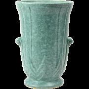 Robinson Ransbottom Pottery Company Victoria Green Vase, 1938
