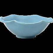 Rookwood Pottery Bowl, 1946 Robbins Egg Blue Bowl #6349