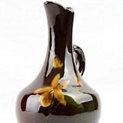 Cambridge Pottery 1895 - 1917 Small Pitcher #102 Claude Leffner Standard Glaze