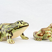 Brush McCoy 1950s Frogs Garden Accessories