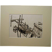 Maine Sailboat Sketch By Palmieri