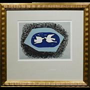 Georges Braque Original Stone Lithograph, 1967