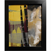 Abstract Contemporary Painting Bamboo