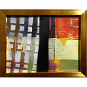 Abstract Contemporary Painting Moon Gate