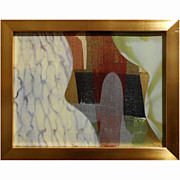 Abstract Contemporary Painting Stage Set