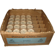 24 Vintage Shenango Inca Ware Individual Restaurant Creamers in the Original Commercial Store