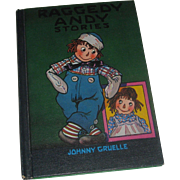 REDUCED Raggedy Andy Stories by Johnny Gruelle HB c1948 1960 printing