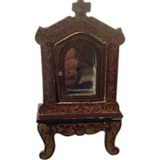 19thC Walterhausen Cabinet with Mirrored door