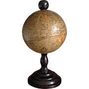 Very Rare 19thC miniature FRENCH Globe
