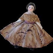 SALE PENDING 1860s Parian dolls house doll