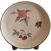 Royal Worcester Evesham Tart-Quiche-Pie Plate