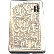Vintage GS Electric Silver Plate Lighter