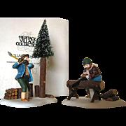 """SALE """"Lumberjacks"""" Dept. 56 New England Village"""