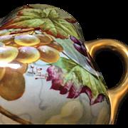 Limoges Porcelain Cider Pitcher