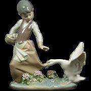 SALE Llardro Goose Girl