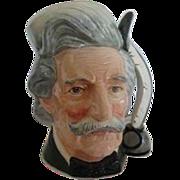 SALE Royal Doulton Character Jug, Mark Twain