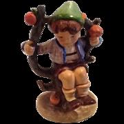 German M.I. Hummel Figurine;  Apple Tree Boy