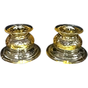 SALE Federal Madrid Candle Stick Holders