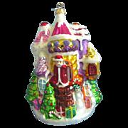 Christopher Radko Candy Castle Ornament 98-SP-36