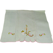 Marghab Linen Embroidered Guest Towel Pattern 483