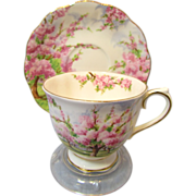 Royal Albert Blossom Time Cup and Saucer