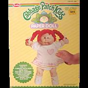 Cabbage Patch Kids Paper Doll NIB