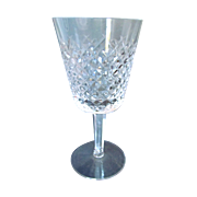"Waterford Crystal Alana Pattern 7"" Water Goblet"