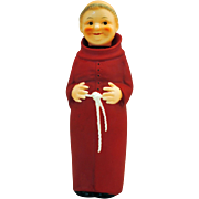 Goebel Cardinal Red Friar Tuck Decanter